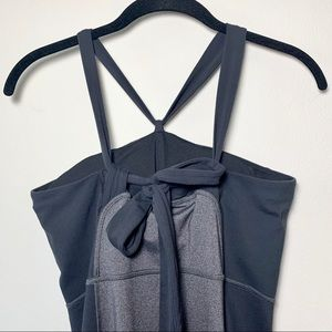 Lucy Dresses - Lucy Hatha Convertible Gray Yoga Dress
